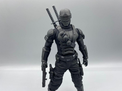 Snake eyes black suit 1/12(Figuregear3d Collaborative Style)
